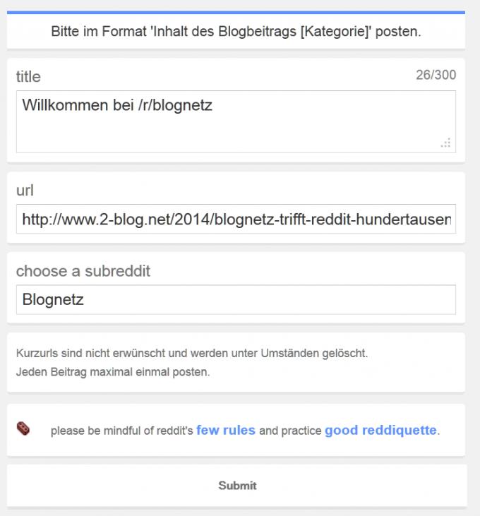 Blognetz_ submit