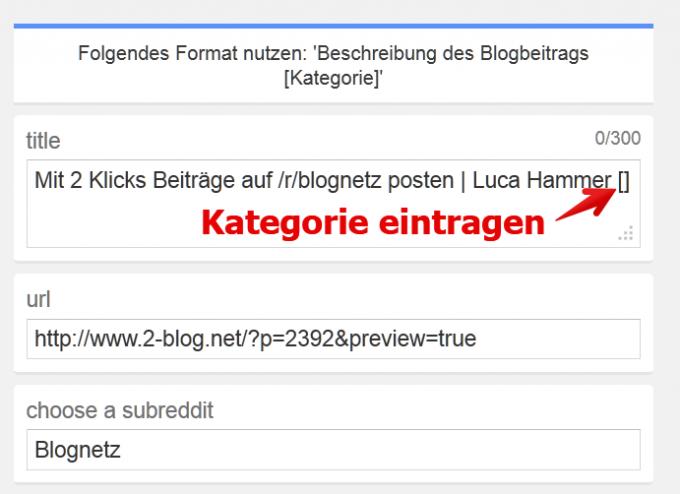 reddit bookmarklet