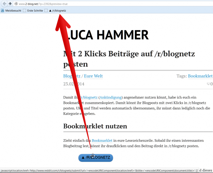 blognetz bookmarklet