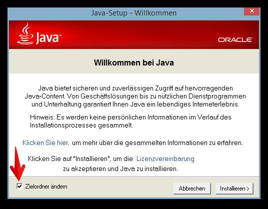 Java-Setup - Willkommen 2014-07-20 17.26.36