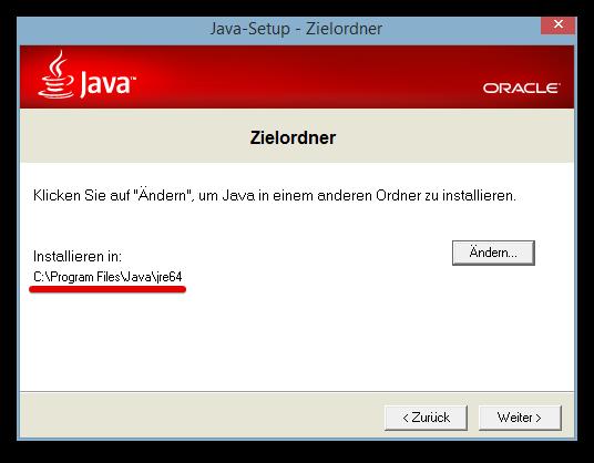 Java-Setup - Zielordner 2014-07-20 17.27.27