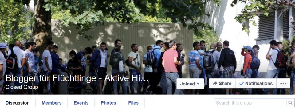 Blogger für Flüchtlinge - Aktive Hilfe & friedlicher Widerstand - Mozilla Firefox 2015-08-25 19.18.28